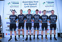 Team Rauland Cycling (Australia). 2019 Grassroots Trust NZ Cycle Classic UCI 2.2 Tour at St Peter's School in Cambridge, New Zealand on Tuesday, 22 January 2019. Photo: Dave Lintott / lintottphoto.co.nz