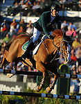8 October 2010: Billy Twomey (IRE) and Tinka's Serenade compete during the Show Jumping Individual Championship Qualifiers in the World Equestrian Games in Lexington, Kentucky