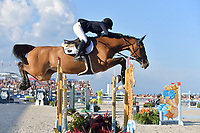 MIAMI BEACH, FL - APRIL 07: Jessica Rae Springsteen at the Longines Global Champions Tour stop day 3 in Miami Beach on April 7, 2018 in Miami Beach, Florida<br /> <br /> People:  Jessica Rae Springsteen