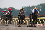 TOKYO,JAPAN-JUNE 19: Gold Dream #12,ridden by Yuga Kawada,wins the Unicorn Stakes at Tokyo Racecourse on June 19,2016 in Fuchu,Tokyo,Japan (Photo by Kaz Ishida/Eclipse Sportswire/Getty Images)