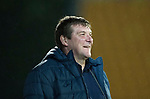 Dave Mackay Testimonial: St Johnstone v Dundee…06.10.17…  McDiarmid Park… <br />Saints manager Tommy Wright<br />Picture by Graeme Hart. <br />Copyright Perthshire Picture Agency<br />Tel: 01738 623350  Mobile: 07990 594431