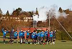 081217 Rangers training