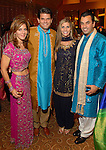 Allison Triarsi and Stephen Lewis with Gina and Dr. Devinder Bhatia at the UNICEF Mystique of India gala at the InterContinental Hotel Saturday Sept. 27,2008.(Dave Rossman/For the Chronicle)