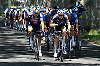 July 9th 2021. Carcassonne, Languedoc, France;  VAKOC Petr (CZE) of ALPECIN-FENIX leading the pack  during stage 13 of the 108th edition of the 2021 Tour de France cycling race, a stage of 219,9 kms between Nimes and Carcassonne.