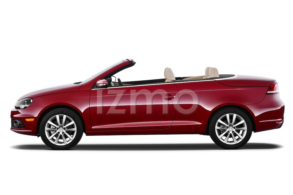 Passenger side profile view of a 2012 Volkswagen EOS Komfort.