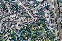 Sachsentor: EUROPA, DEUTSCHLAND, HAMBURG, BERGEDORF (EUROPE, GERMANY), 5.09.2021: Sachsentor