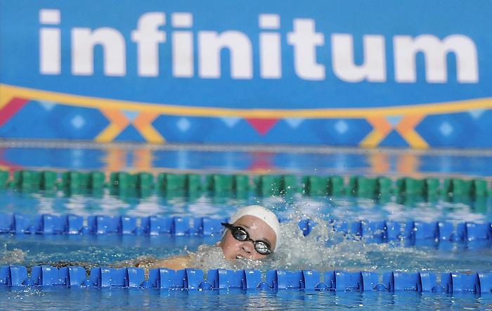 Danielle Kisser, Guadalajara 2011 - Para Swimming // Paranatation.<br /> Danielle Kisser competes in Para Swimming // Danielle Kisser participe en paranatation. 11/13/2011.