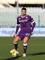 Football Soccer: Tim Cup Round of 16 Fiorentina - FC Internazionale Milano, Artemio Franchi  stadium, Florence, January 13, 2021. <br /> Valentin Eysseric in action during the Italian Tim Cup football match between Fiorentina and Inter at Florence's Artemio Franchi stadium, on January 13, 2021.  <br /> UPDATE IMAGES PRESS/Isabella Bonotto