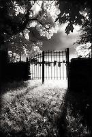 Cemetery gates<br />