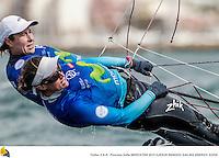 Palma de Mallorca, Spain ESP - Spain TAMARA ECHEGOYEN Skipper BERTA BETANZOS Crew , 49er FX spanish Rio 2016 sailors