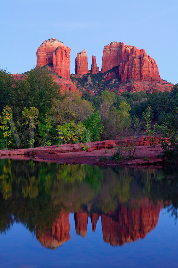 Cathedral Rock and Oak Creek, Sedona, Arizona