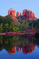 Cathedral Rock and Oak Creek, Sedona, Arizona
