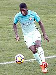 FC Barcelona's Samuel Umtiti during La Liga match. February 26,2017. (ALTERPHOTOS/Acero)