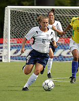 Tiffeny Millbret, USWNT vs Brazil.