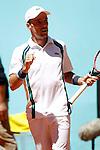 Roberto Bautista Agut, Spain, during Madrid Open Tennis 2016 match.May, 3, 2016.(ALTERPHOTOS/Acero)