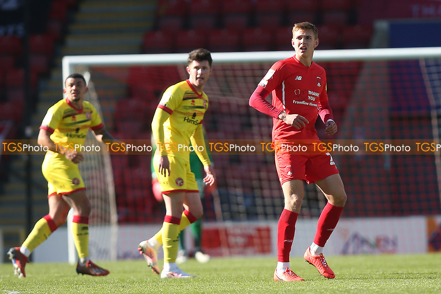 Hector Kyprianou of Leyton Orient during Leyton Orient vs Walsall, Sky Bet EFL League 2 Football at The Breyer Group Stadium on 5th April 2021