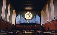 Perth: Hackett Memorial Hall, U. of Western Australia--interior. Photo '82.