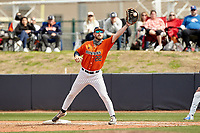 SAN ANTONIO, TX - MARCH 6, 2021: The University of Texas at San Antonio Roadrunners split a double header with the University of Texas at Arlington Mavericks winning Game 1 3-0 and falling 2-1 in Game 2 at Roadrunner Field (Photo by Jeff Huehn).