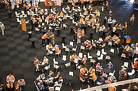 19-9-08, Netherlands, Apeldoorn, Tennis, Daviscup NL-Zuid Korea, Overzicht pobliekshal