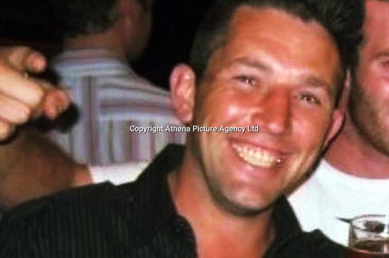 Pictured: Undated picture of Marcus Sheppard.<br /> Re: A man who stabbed to death his victim in a drug debt dispute has been jailed for 9 years by Swansea Crown Court. <br /> Marcus Sheppard was killed by Nicholas Sloots when he and another man, Christopher Evans — who Sloots owed £2,000 to £3,000 — visited the flat in Dalton Road, Port Talbot , where Sloots was staying.<br /> Swansea Crown Court heard that Mr Sheppard's long-term partner was pregnant with their third child, and that he earned good money as a steelworker.<br /> But in the month before his killing a suspected tumour was discovered in his neck, with the initial findings pointing to cancer.