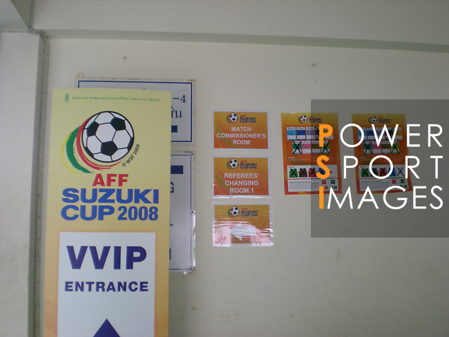 Branding and Pre-match activities prior to the AFF Suzuki Cup 2008 Group B matches at Surakul Stadium on 08 December 2008, in Phuket, Thailand. Photo by Stringer / Lagardere Sports