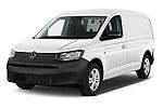 2021 Volkswagen Caddy-Cargo Maxi-Business 4 Door Cargo Van Angular Front automotive stock photos of front three quarter view