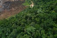 Córrego do Feijão, onde rompeu a barragem da Vale nesta sexta (25), em Brumadinho (MG) Córrego do Feijão, onde rompeu a barragem da Vale  Brumadinho (MG)<br /> <br /> © Henrique Sawaya<br /> 26/01/2019