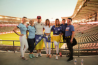 Carson, CA - Sunday January 28, 2018:  prior to an international friendly between the men's national teams of the United States (USA) and Bosnia and Herzegovina (BIH) at the StubHub Center.
