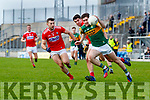 Donal O'Sullivan, Kerry in action against Peter Murphy, Cork during the 2020 McGrath Cup Group B match between Kerry and Cork at Austin Stack Park in Tralee, Kerry.