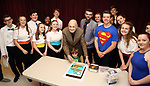 Charles Strouse celebrates 90th Birthday at 'Superman The Musical'