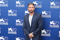 Matthias Schoenaerts attends the photocall for the movie 'The Danish Girl' during 72nd Venice Film Festival at the Palazzo Del Cinema in Venice, Italy, September 5, 2015. <br /> UPDATE IMAGES PRESS/Stephen Richie