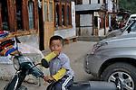 A bhutanese child at Jakar town in Bumthang, Bhutan. Arindam Mukherjee.