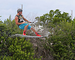 September 13, 2014:  Scenes from the WWA Wakeboard World Championships at Mills Pond Park in Fort Lauderdale, FL.  Men's  Professional Wakeboarder Phillip Soven USA takes 2nd. Liz Lamont/ESW/CSM