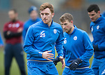 St Johnstone Training….20.01.17<br />Liam Craig pictured during training this monring ahead of tomorrow's Scottish Cup game against Stenhousemuir.<br />Picture by Graeme Hart.<br />Copyright Perthshire Picture Agency<br />Tel: 01738 623350  Mobile: 07990 594431