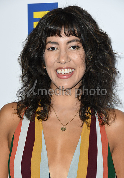 10 March 2018 - Los Angeles, California - Stephanie Beatriz. The Human Rights Campaign 2018 Los Angeles Dinner held at JW Marriott LA Live. Photo Credit: Birdie Thompson/AdMedia