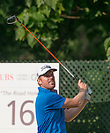 Andrew Dodt of Australias tees off during the 58th UBS Hong Kong Golf Open as part of the European Tour on 11 December 2016, at the Hong Kong Golf Club, Fanling, Hong Kong, China. Photo by Marcio Rodrigo Machado / Power Sport Images