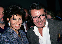 Raquel Welch & Milos Forman 1980s Photo by Adam Scull-PHOTOlink.net