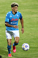 Kevin Malcuit of SSC Napoli<br /> during the friendly football match between SSC Napoli and L Aquila 1927 at stadio Patini in Castel di Sangro, Italy, August 28, 2020. <br /> Photo Cesare Purini / Insidefoto