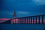 The Manaus Iranduba Bridge (called Ponte Rio Negro in Brazil) is a bridge over the Rio Negro with 3595 meters of length that links the cities of Manaus and Iranduba