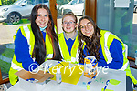 The Castleisland Community College students in attendance at the Kerry Mental Health and Wellbeing FEST Wellness  at An Riocht in Castleisland on Sunday. l to r: Abby O'Connell, Katelyn O'Keeffe and Isabel Esteban.
