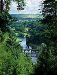 Ireland, County Kilkenny, Inistioge: View over River Nore | Irland, County Kilkenny, Inistioge: Landschaft am Nore Fluss