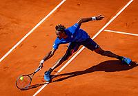 Paris, France, 1 june, 2019, Tennis, French Open, Roland Garros, Geal Monfils (FRA)<br /> Photo: Henk Koster/tennisimages.com