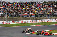 9th October 2021; Formula 1 Turkish Grand Prix 2021 Qualifying sessions at the Istanbul Park Circuit, Istanbul;   16 LECLERC Charles mco, Scuderia Ferrari SF21, action and 11 PEREZ Sergio mex, Red Bull Racing Honda RB16B
