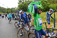 July 13th 2021, Saint-Gaudens, Haute-Garonne, France: CAVENDISH Mark (GBR) of DECEUNINCK - QUICK-STEP during stage 16 of the 108th edition of the 2021 Tour de France cycling race, a stage of 169 kms between El Pas de la Casa and Saint-Gaudens.