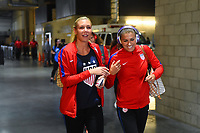 Carson, CA - Thursday August 03, 2017: Allie Long prior to a 2017 Tournament of Nations match between the women's national teams of the United States (USA) and Japan (JPN) at the StubHub Center.