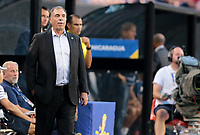 Cleveland, OH - Saturday July 15, 2017: Bruce Arena during a 2017 Gold Cup match between the men's national teams of the United States (USA) and Nicaragua (NCA) at FirstEnergy Stadium.