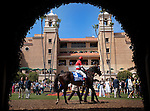 Acclamation with Patrick Valenzuela aboard wins the Eddie Read Stakes at Del Mar Race Course in Del Mar, California on July 21, 2012.