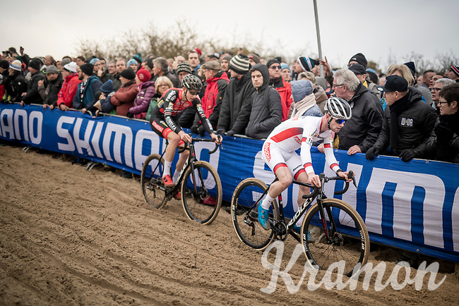 World Cup Leader Eli Iserbyt (BEL/Pauwels Sauzen-Bingoal)<br /> <br /> Elite Men's Race<br /> UCI cyclocross WorldCup - Koksijde (Belgium)<br /> <br /> ©kramon