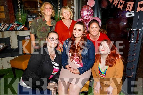 Ann, Ed and Lauren Garczynski and Sheamie O'Shea enjoying the evening in Sforno on Saturday