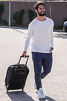 Spainsh Francisco Alarcon Isco arriving at the concentration of the spanish national football team in the city of football of Las Rozas in Madrid, Spain. November 08, 2016. (ALTERPHOTOS/Rodrigo Jimenez) ///NORTEPHOTO.COM